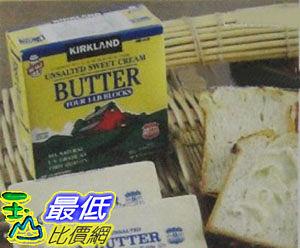 [COSCO代購] 無法超取 KIRKLAND SIGNATURE 無鹽奶油 Unsalted Sweet Cream Butter C744110