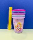 【震撼精品百貨】公主 系列Princess~迪士尼塑膠吸管杯(3入)-綜合公主#37954
