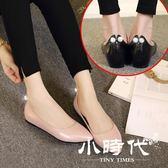 涼鞋 春季平底單鞋尖頭休閑駕車瓢鞋淺口軟底低跟女鞋