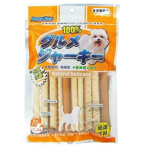 【培菓幸福寵物專營店】《PettyMan》5種口味肉條 - 180克/包