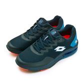 LIKA夢 LOTTO 專業避震氣墊慢跑鞋 AERO POWER 系列 藍 0616 男
