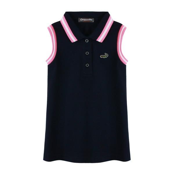 『小鱷魚童裝』無袖polo洋裝(02號~10號)533386
