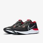 NIKE系列-Renew Run男款黑紅運動慢跑鞋-NO.CK6357005