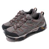 Merrell 戶外鞋 Moab 2 GTX 灰 棕 女鞋 運動鞋 Gore-Tex 防水 【PUMP306】 ML99790