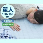 [單人尺寸] 外銷日本 一觸即涼 涼感床墊 保潔墊 清涼 透氣 舒適 單人雙人 床墊【RS801】