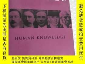 二手書博民逛書店Human罕見Knowledge Its Scope And L