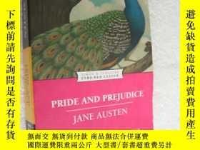 二手書博民逛書店原版名著閱讀罕見Pride and prejudiceY1468