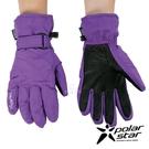 【 PolarStar 】女防水保暖觸控手套『紫』P18626 可觸控手套.防風手套.保暖手套.防滑手套.刷毛手套