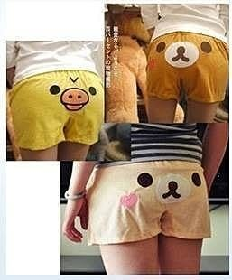 【發現。好貨】出口日本 拉拉熊 懶懶熊 居家褲 短褲 熱褲 睡褲
