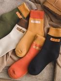 冬天加厚加絨毛襪子女中筒襪韓版學院風日系秋冬季韓國保暖毛圈襪