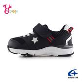 Moonstar月星男童鞋 機能鞋 足弓鞋墊 速乾 運動鞋 慢跑鞋 快乾機能鞋 J9616#黑色◆OSOME奧森鞋業