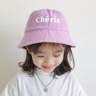 兒童遮陽帽 春季兒童雙面漁夫帽潮小童太陽帽女童時尚遮陽帽男童幼兒帽子夏天-Ballet朵朵
