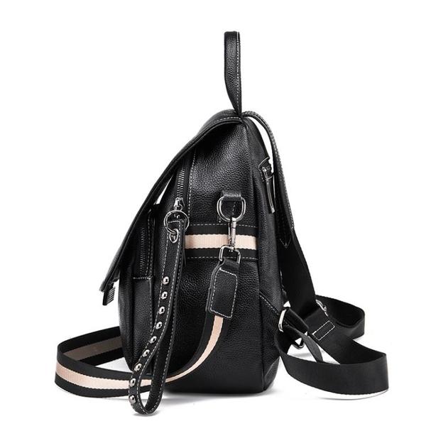 背包雙肩包女2020夏季新款韓版時尚街頭女包百搭休閒旅行包小包潮 初色家居館