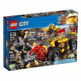 樂高積木 LEGO《 LT60186 》City 城市系列 - 採礦重型鑽孔機 ╭★ JOYBUS 玩具百貨