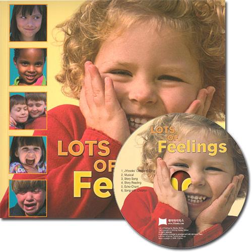 【麥克書店】LOTS OF FEELINGS /英文繪本附CD