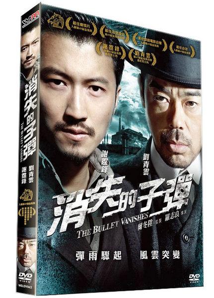 消失的子彈 超值雙碟版DVD 劉青雲/謝霆鋒