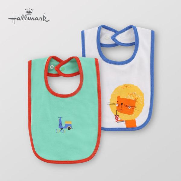 Hallmark Babies 純棉卡通男嬰圍兜兩件裝 HF1-B06-A2-AB-ME