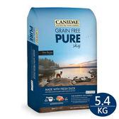 PetLand寵物樂園《Canidae》天然無穀系列-鮮鴨犬糧 / 低敏護膚精選配方 / 全犬飼料 5.4KG