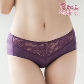 【玉如內褲】編織情人無痕褲。蕾絲。低腰。無痕。舒適。台灣製。※K029