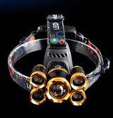 頭燈強光充電超亮頭戴式感應3000打獵米夜釣釣魚led防水戶外礦燈 法布蕾輕時尚