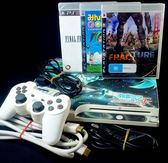 【PS3主機】☆ 3007A型 160G 典雅白色+3款遊戲 薄型吸入式 ☆【中古二手商品】台中星光電玩