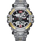 Transformers 變形金剛 聯名限量潮流雙顯腕錶(鋼鎖) LM-TF004.GL33G.211.3GG