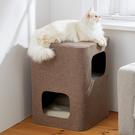 貓跳台 人貓共用貓窩帶可拆洗墊子小型貓爬架貓樹沙發凳子貓抓板出口日本 MKS韓菲兒