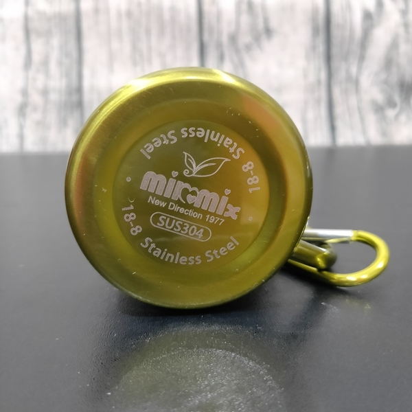 milomix 雙層隔熱304京彩旅巧杯 鋼杯 水杯 露營杯 旅行杯 110ml