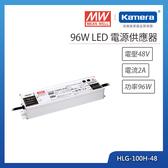 明緯 96W LED電源供應器(HLG-100H-48)