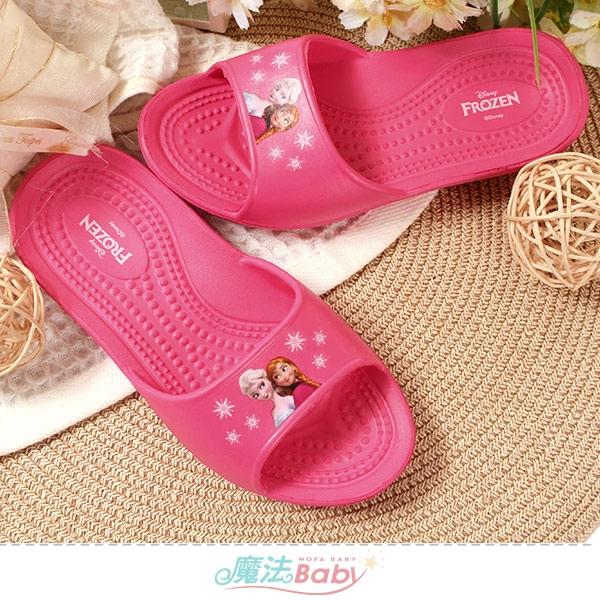 女童鞋 迪士尼冰雪奇緣授權正版輕便拖鞋 魔法Baby
