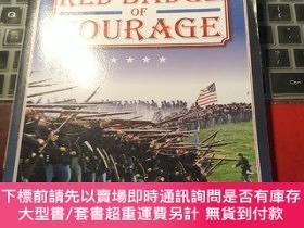 二手書博民逛書店the罕見red badge of courage STEPHEN CRANEY32667 Stephen c
