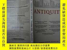 二手書博民逛書店ANTIQUITY罕見(英文版)Y18817 ANTIQUITY