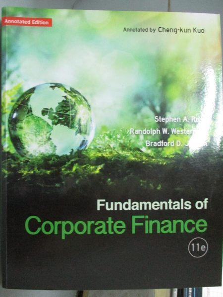 【書寶二手書T1/大學法學_YJS】Fundamentals of Corporate Finance11/e_Stephen A. Ross