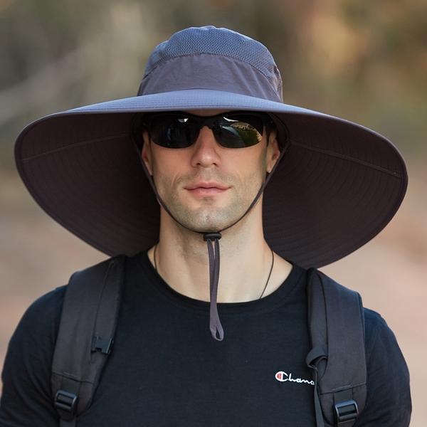 泰博思 防曬帽 登山帽 防紫外線遮陽帽 漁夫帽 盆帽 運動帽 釣魚帽【V048】