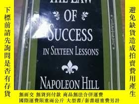 二手書博民逛書店THE罕見LAW OF SUCCESS VOLUME 2 NAP