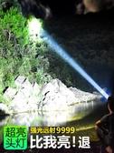 LED頭燈強光充電超亮感應氙氣頭戴式戶外手電筒鋰電釣魚夜釣礦燈 夏季上新