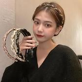 髮箍 發箍女韓國網紅2020年新款洗臉頭箍韓版復古壓發防滑簡約發卡頭飾 夢藝家
