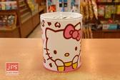 Hello Kitty 凱蒂貓 小圓存錢筒 撲滿 捧臉 白 957380