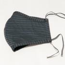 LOVIN 台灣製成人立體棉布質口罩 灰色3入