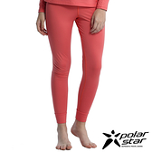 Polarstar 女遠紅外線保暖褲『粉紅』排汗│透氣│保暖│抗靜電 P16432