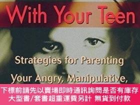 二手書博民逛書店Stop罕見Negotiating With Your TeenY255174 Janet Sasson Ed