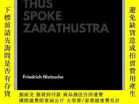 二手書博民逛書店Thus罕見Spoke Zarathustra(尼采《扎拉圖斯特
