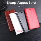 【瘋馬紋皮套/】SHARP AQUOS Zero 翻頁式側掀保護套/磁扣側開插卡手機套/斜立支架保護殼-ZW
