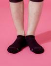 【 Footer 除臭襪】單色運動逆氣流氣墊船短襪 黑 24-27CM 男 (任選6雙960元)