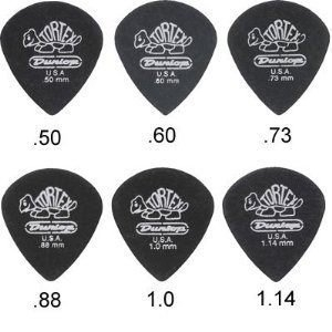 ☆ 唐尼樂器︵☆ DUNLOP Tortex Pitch Black Jazz 電吉他 PICK 彈片(速彈型)