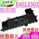 ASUS B21N1505 電池(原廠)-華碩 E402電池,E402M,E402MA,E402NA,E502電池,E502S,E502SA,E502NA,排線雙扣