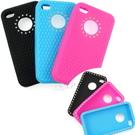 TPTT iPhone 4 橡膠保護套- BlingBling 鑲鑽風 〈附正、背面保護貼+擦拭布〉『免運優惠』