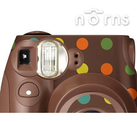 MINI7S 專用FUJIFILM日本富士原廠拍立得相機機身貼紙【Choco Marble款】Norns