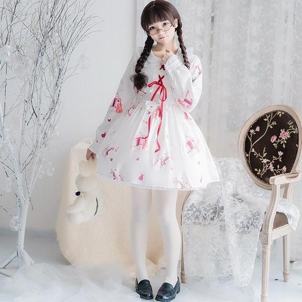 日系洛麗塔洋裝連身裙蘿莉二次元lolita【星際小舖】