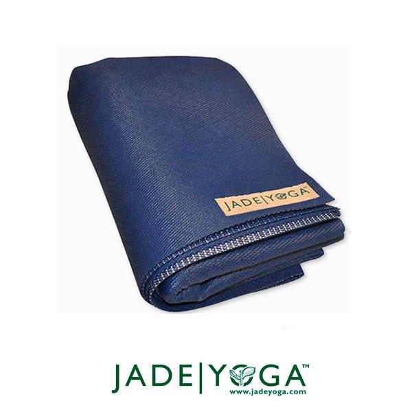 Jade Yoga 天然橡膠瑜珈墊 Voyager Mat 1.5mm 173cm - 午夜藍
